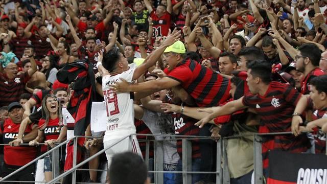 Reinier fez o gol da vitória do Flamengo