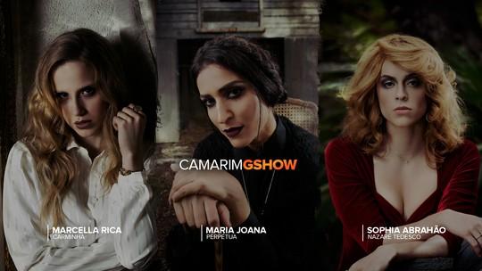 Halloween Gshow: Sophia Abrahão, Maria Joana e Marcella Rica se inspiram em grandes vilãs da TV