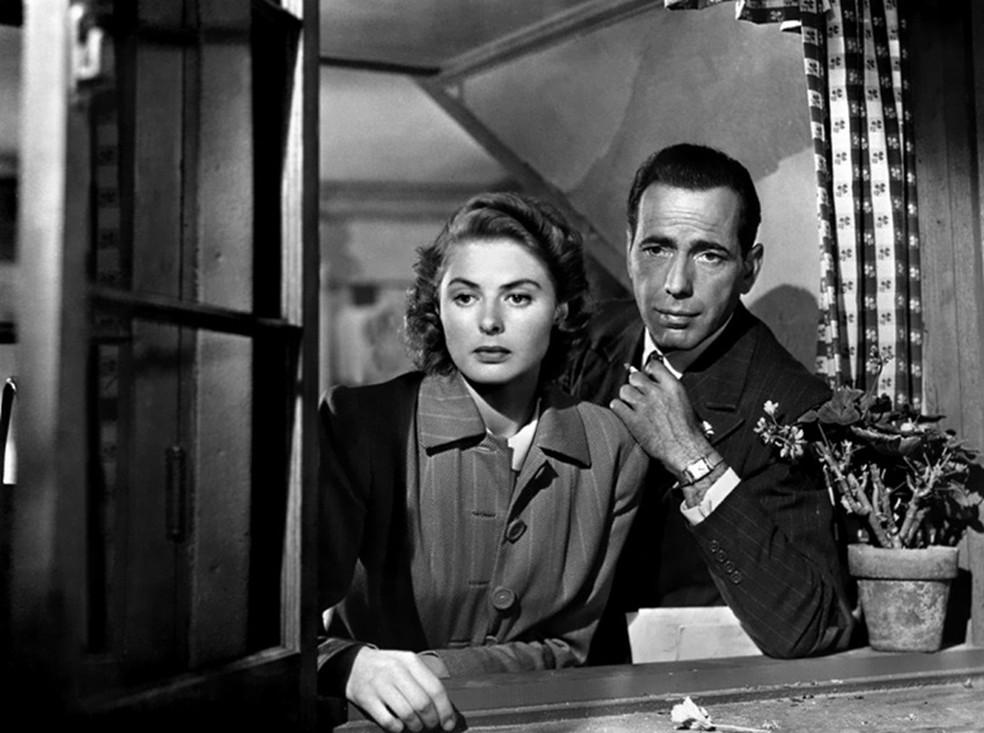 -  O longa Casablanca  1942  deve ser exibido nesta terça-feira  14   Foto: Divulgação