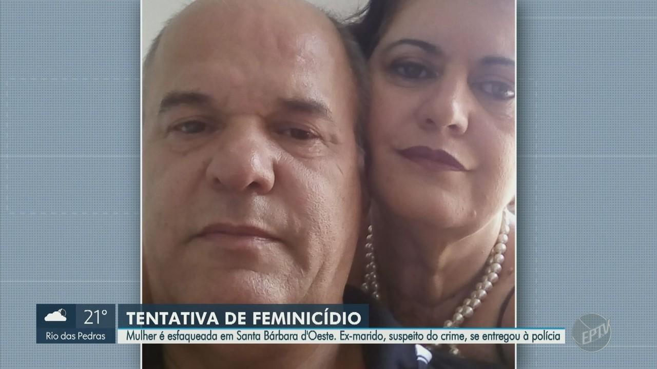 Mulher é esfaqueada em Santa Bárbara D'Oeste por ex-companheiro