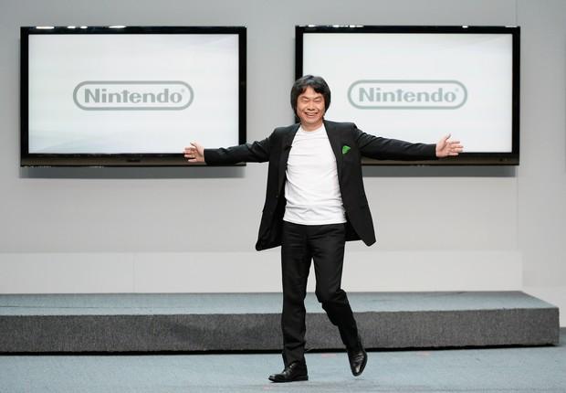 Shigeru Miyamoto, criador da franquia Super Mario, convocou seus pares a oferecer títulos a preços fixos (Foto: Getty Images)