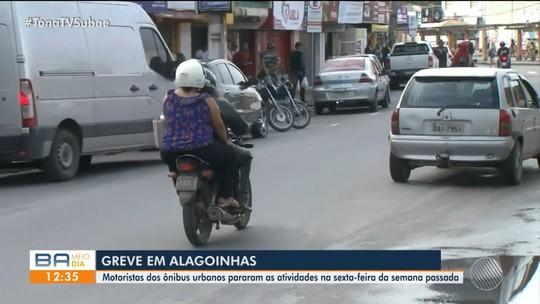 Greve de rodoviários em Alagoinhas completa 5 dias; categoria pede reajuste de 10%