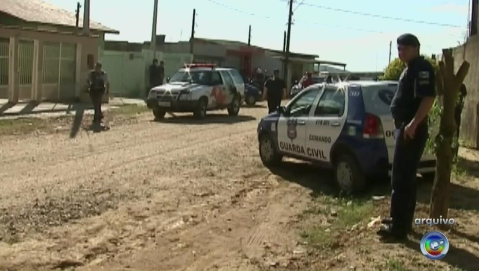 Crime aconteceu em 9 de agosto de 2013 em Mairinque (Foto: Reprodução/TV TEM)