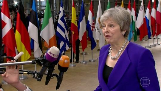May diz que período de transição pós-Brexit pode ser prolongado