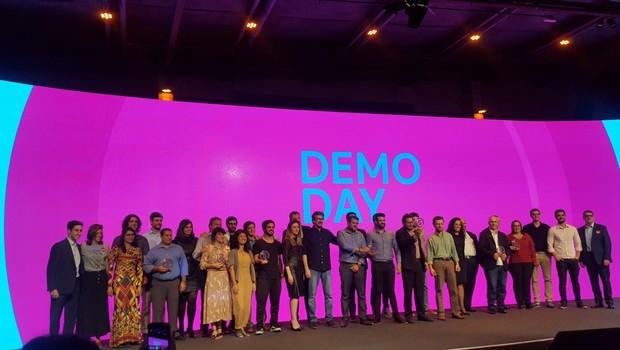 Startups que participaram do evento Demo Day, última etapa do programa Braskem Labs Scale 2018 (Foto: Daniela Simões)