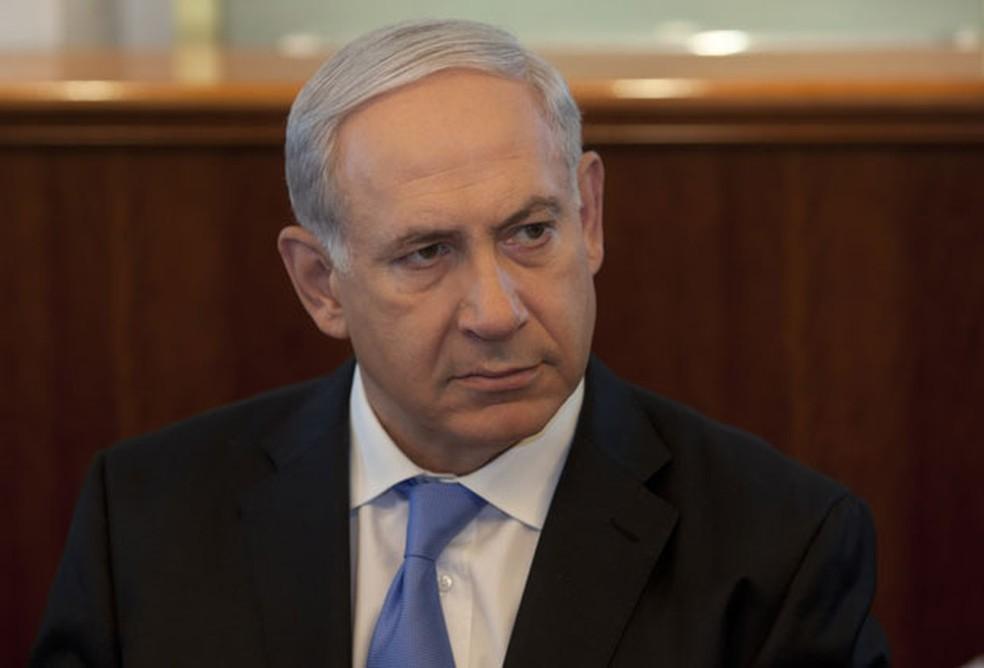 -  O primeiro-ministro israelense, Benjamin Netanyahu, em imagem de arquivo  Foto: AP