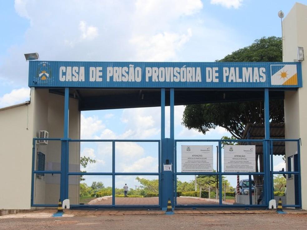 Oito presos que foram liberados estavam na Casa de Prisão Provisória de Palmas (Foto: Jesana de Jesus/ G1)