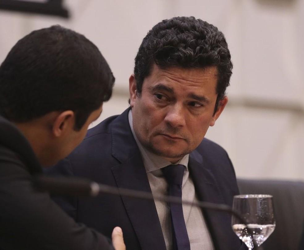 O ministro da Justiça e Segurança Pública, Sérgio Moro — Foto: Valter Campanato/Agência Brasil