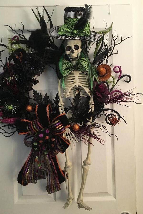 Enfeites de halloween: ideias para guirlanda e centro de mesa (Foto: Reprodução/Pinterest)