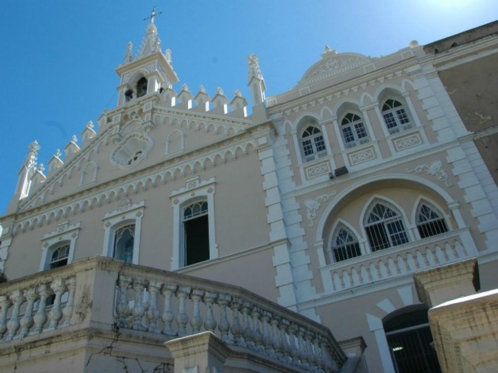 Igreja do Carmo, no centro de Vitória. — Foto: Paula Barreto/Divulgação PMV