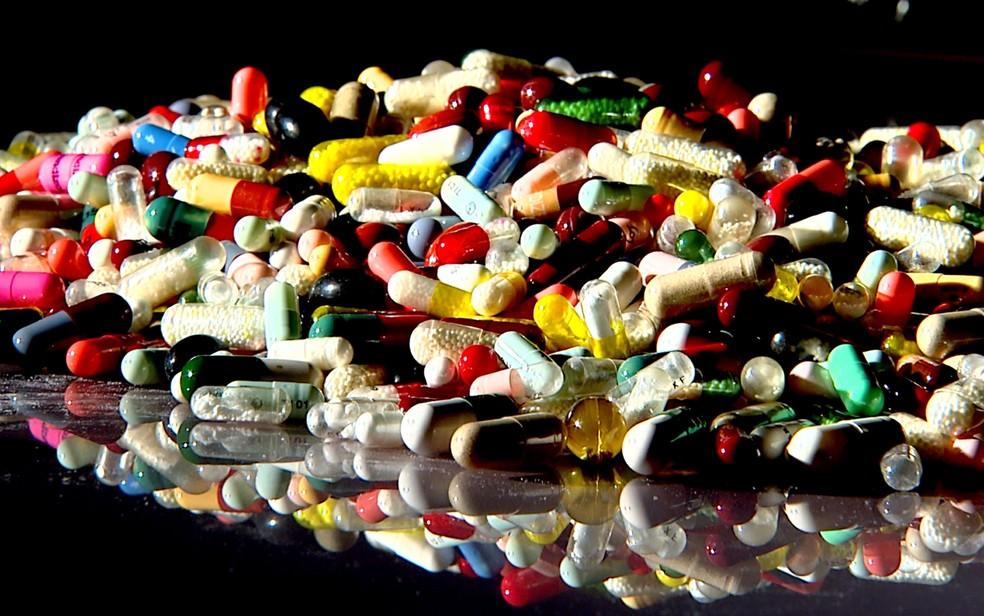 Medicamentos provocam intoxicação principalmente em crianças pequenas, informa Ceatox-PE (Foto: Reprodução/EPTV)