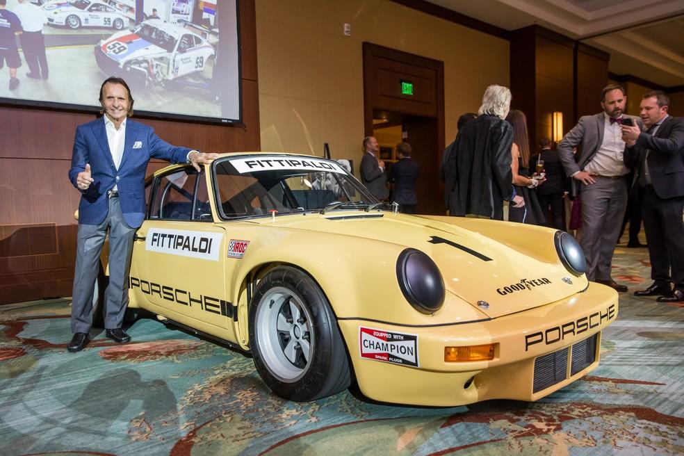 Porsche pilotado por Emerson na Corrida dos Campeões chegou a ser comprado por Pablo Escobar (Foto: Deremer Studios LLC)