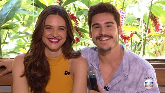 Nicolas Prattes declara admiração por Juliana Paiva: 'Já era fã dela'