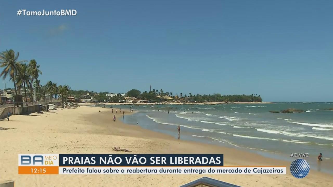 Prefeito ACM Neto afirma que praias de Salvador podem ser liberadas nos próximos dias