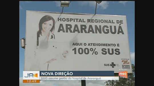 Instituto Imas assume gestão do Hospital Regional de Araranguá