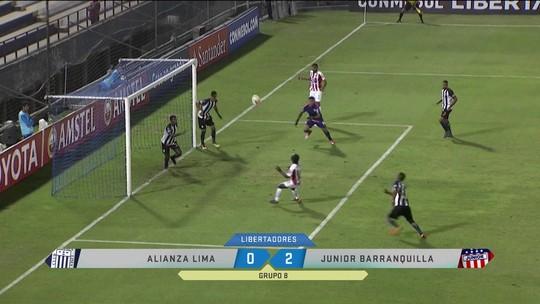 Gol confuso abre caminho para vitória do Junior Barranquilla no grupo do Palmeiras