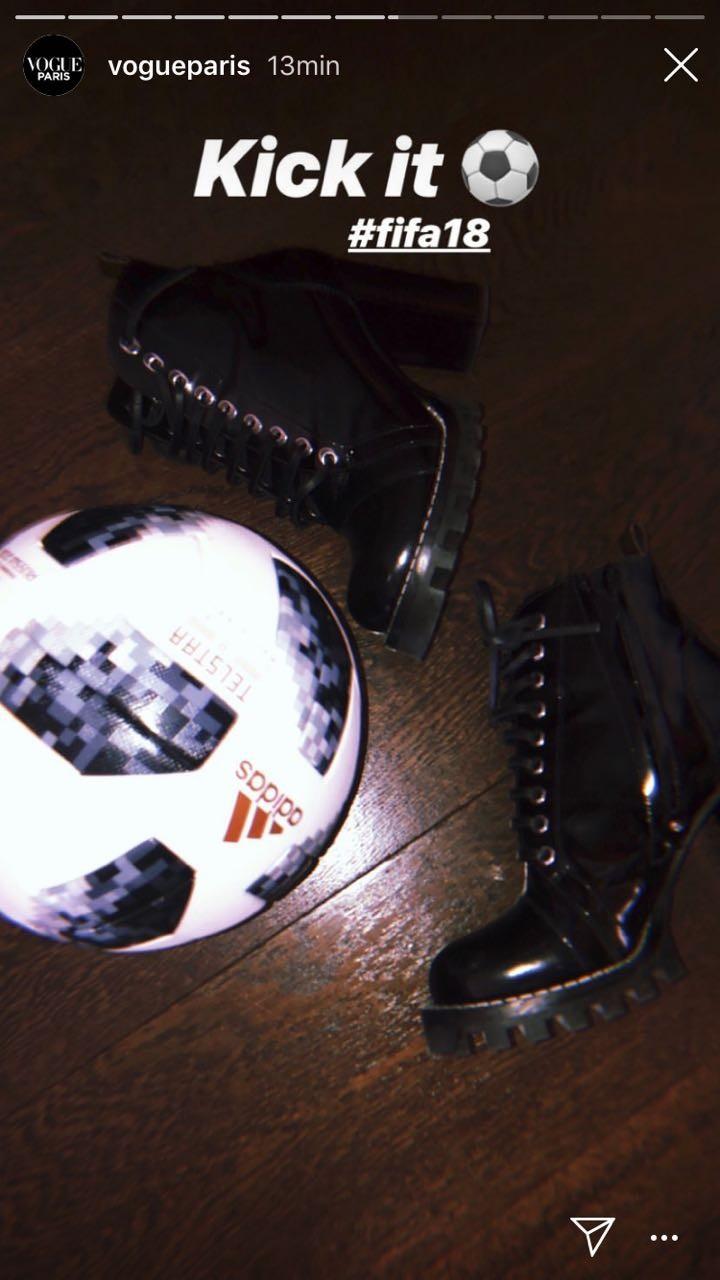 Natalia Vodianova compartilha os preparativos para a Copa do Mundo 2018 (Foto: Reprodução/Instagram)