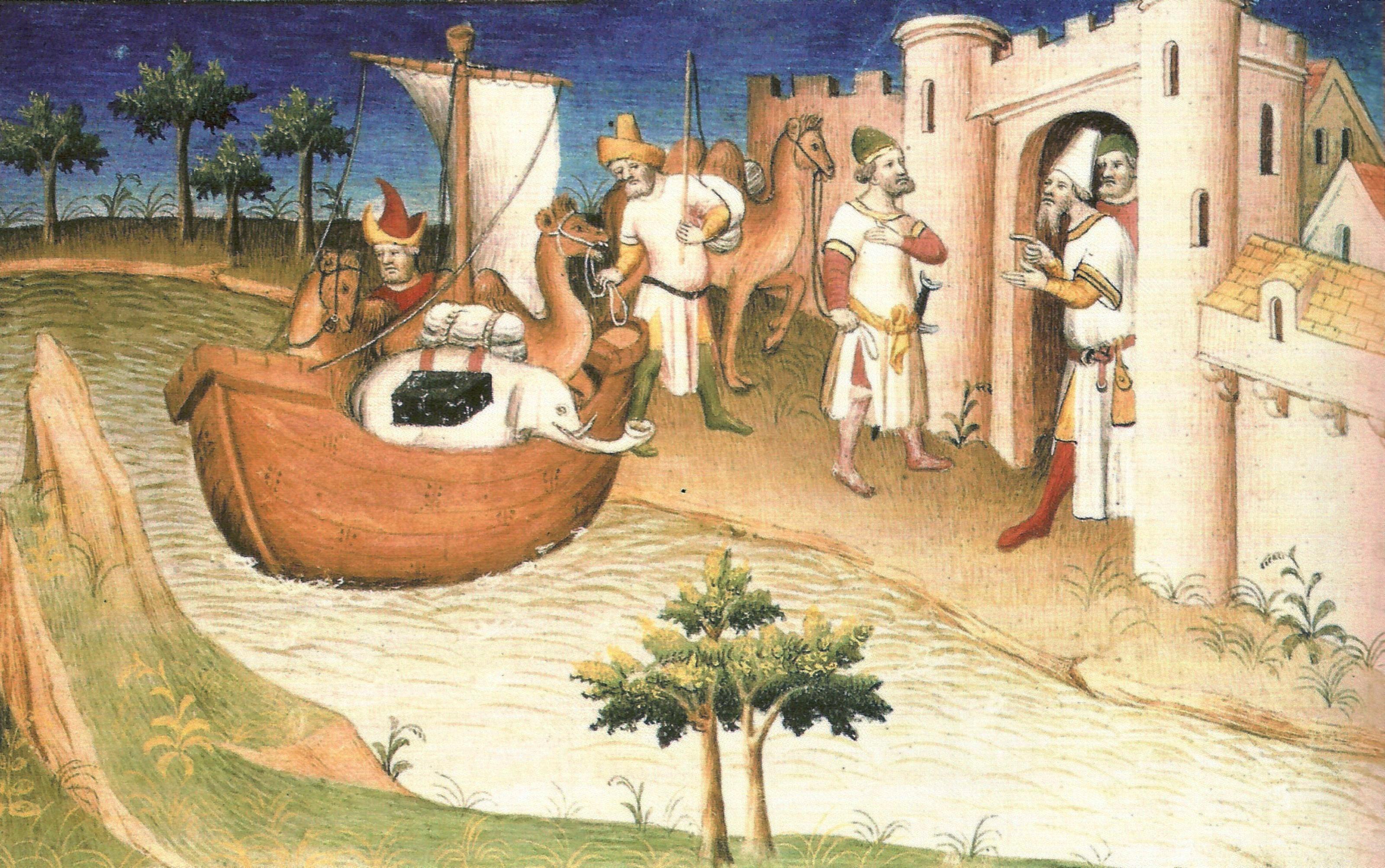 Ilustração do livro 'As Viagens de Marco Polo' (Foto: Domínio público)
