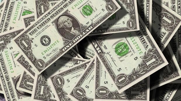 dinheiro, nota, dólar (Foto: Reprodução/Pexels)