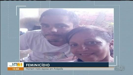 Homem é preso suspeito de matar namorada com facada no pescoço durante discussão, em Anápolis
