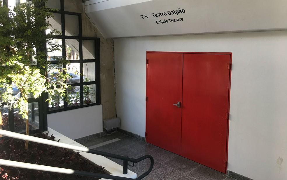 Teatro Galpão, dentro do Espaço Cultural Renato Russo, na 508 Sul, em Brasília (Foto: Luiza Garonce/G1)