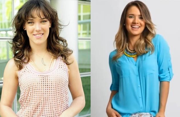 Coube a Kimberly Dos Ramos o papel de Patricia, aqui vivida por Adriana Birolli (Foto: Reprodução)