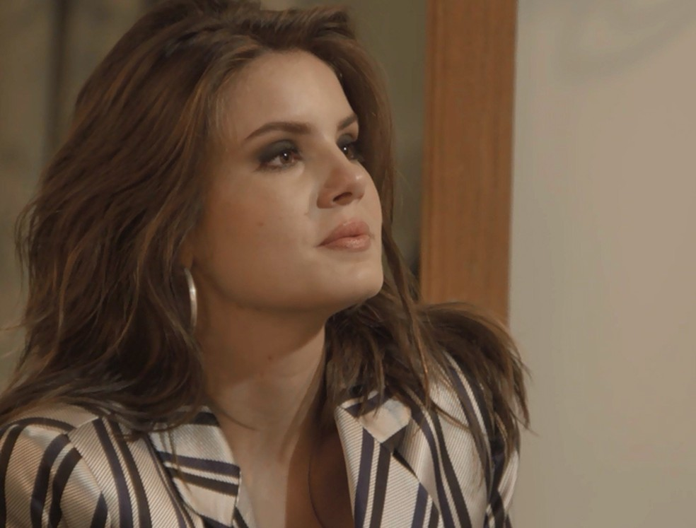 Vanessa se declara para Jerônimo — Foto: TV Globo