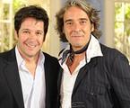 Murilo Benício e Alexandre Borges em 'Ti ti ti' | Globo