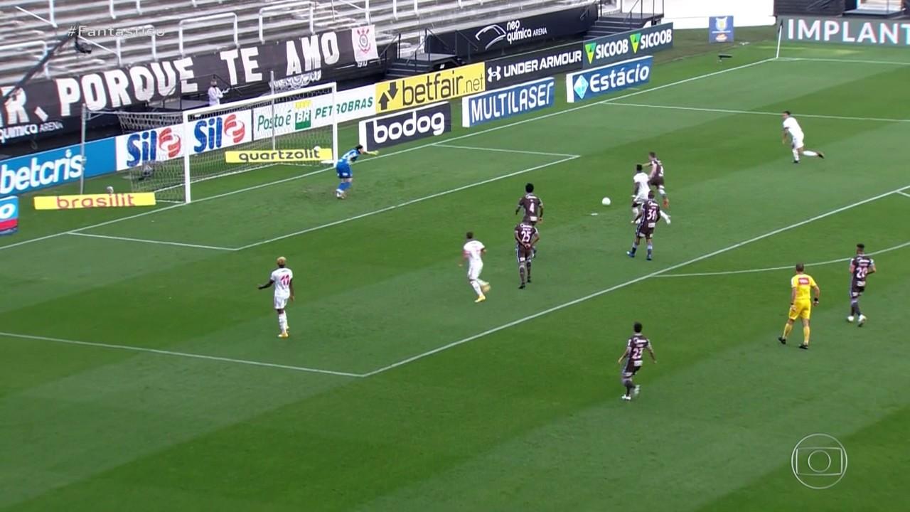 Gols do Fantástico: Flamengo goleia Corinthians; Inter vence Vasco e dorme na liderança