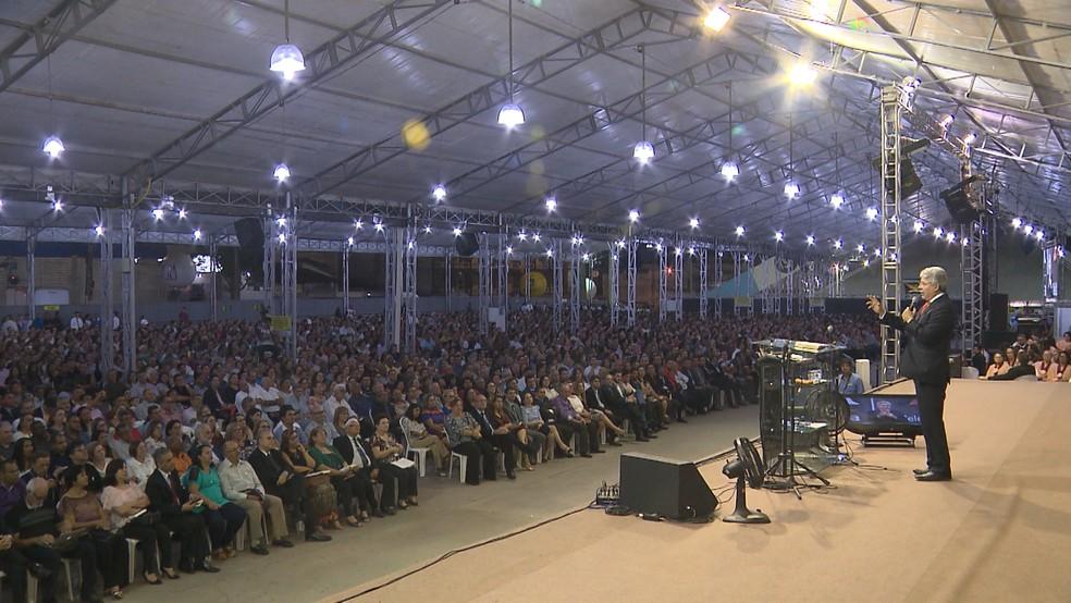 Consciência Cristã chega ao terceiro dia neste sábado (25), em Campina Grande (Foto: Reprodução/TV Paraíba)