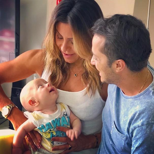 Andressa Ferreira, Thammy Miranda e Dudu (Foto: Instagram/Reprodução)