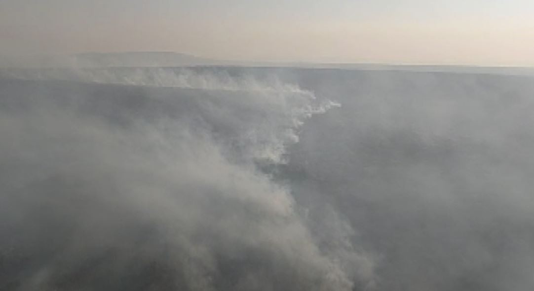 Devastação e custos para apagar fogo formam cálculo da multa de R$ 120 milhões a autor de incêndio na reserva Jataí em Luís Antônio