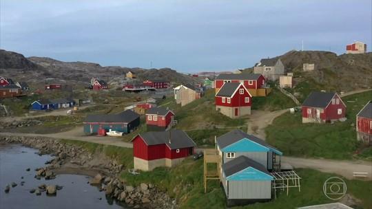 Donald Trump mostra interesse em comprar a Groelândia