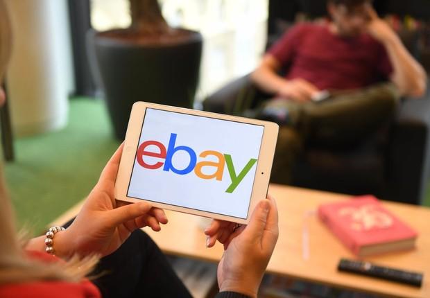 Logo da eBay (Foto: Wilson/Getty Images for eBay)