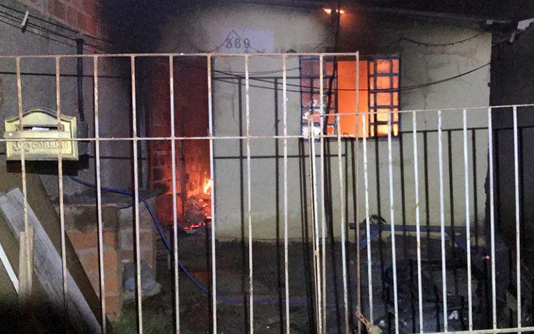 Incêndio atinge residência e fere morador em Artur Nogueira - Noticias
