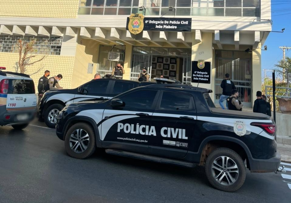 Mandados de prisão e busca e apreensão são cumpridos em João Pinheiro na repressão de homicídios
