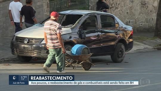 Caminhoneiros entram no 10º dia de paralisação em MG contra alta de combustível