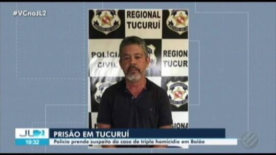 Polícia prende fazendeiro suspeito de mandar matar seis pessoas na zona rural de Baião, no Pará