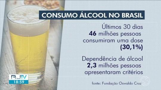 Pesquisa revela que consumo de álcool mata mais que uso de crack