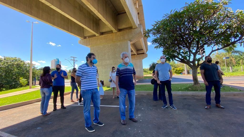 Novo elevado sobre o rio Uberabinha é inaugurado em Uberlândia
