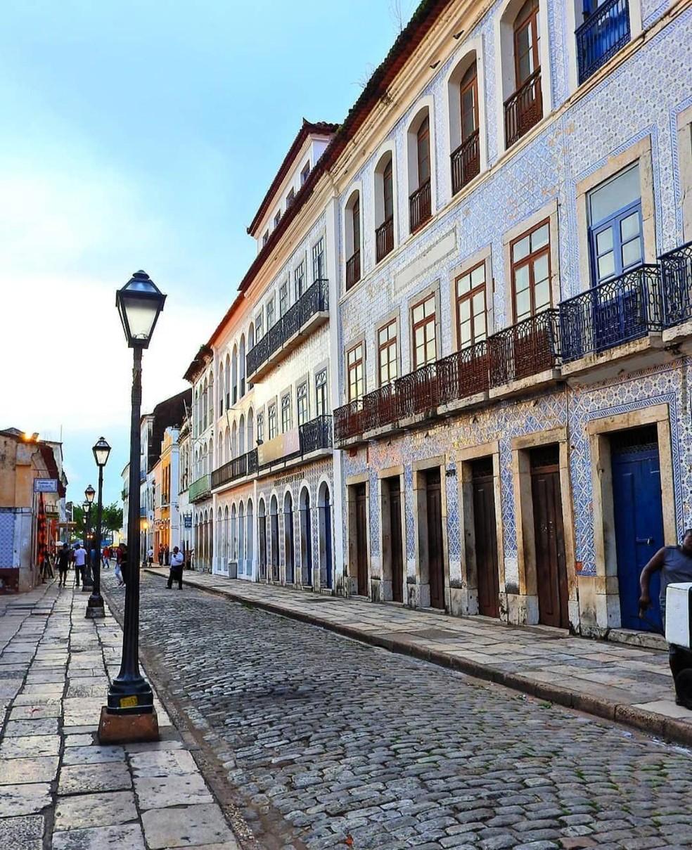 Centro Histórico de São Luís — Foto: Divulgação/Liliana Santana