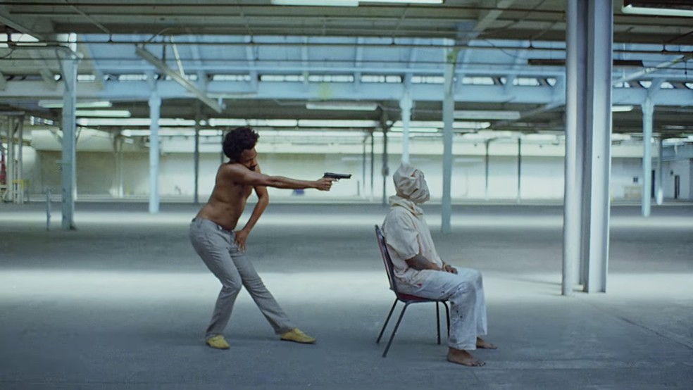 Cena do videoclipe de 'This is America', de Childish Gambino (Foto: Reprodução/YouTube)