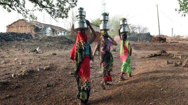 Segundo pesquisador, risco de morte de mulheres em períodos de calor extremo na Índia é bem maior do que o de homens (Foto: EPA via BBC)