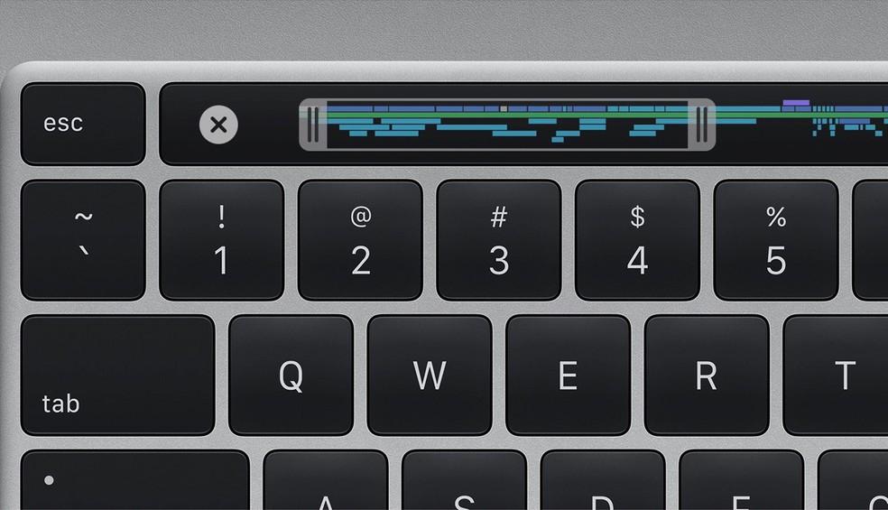 """Batizado de """"Magic Keyboard"""", teclado ganhou tecla ESC e deixou o mecanismo borboleta para trás — Foto: Divulgação/Apple"""