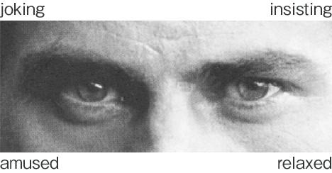 """Exemplo de imagem utilizada no teste """"Lendo a mente nos olhos"""" (Foto: Kawata et al., 2014/ Reprodução)"""