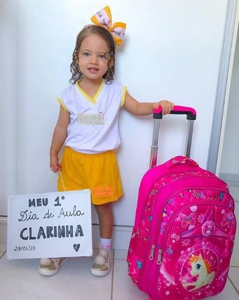 Clara, 2 anos (Foto: @diarioda_clarinha/Instagram)