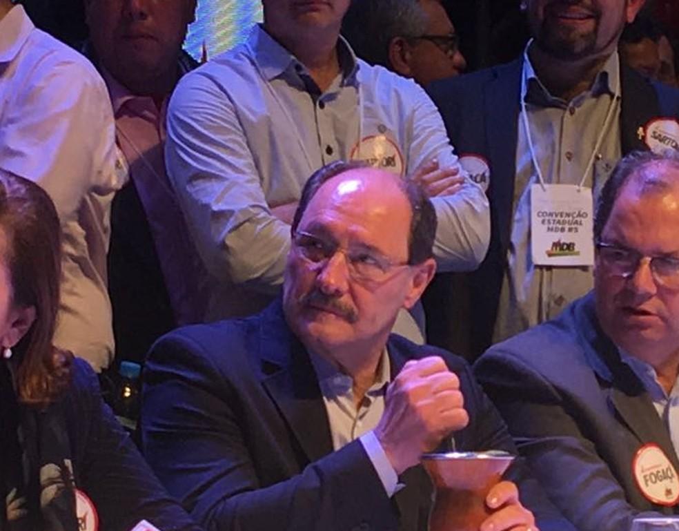 Atual governador do RS, José Ivo Sartori, concorrerá novamente a governador do RS (Foto: Cristine Gallisa/RBS TV)