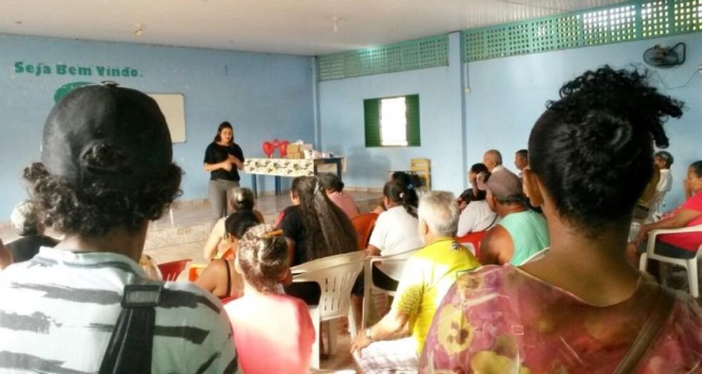 -  Grupões ajudam pessoas com hipertensão em Santarém  Foto: Ascom PMS/Divulgação