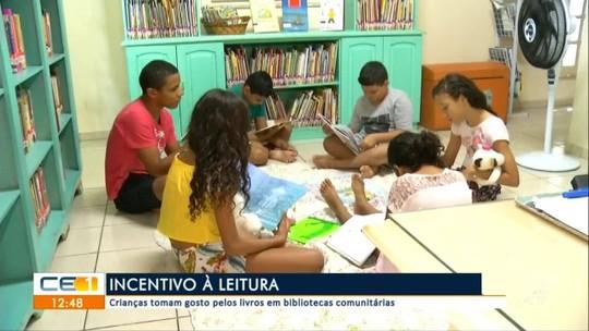 Crianças são maioria em bibliotecas no Cariri