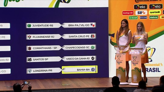 CBF define sorteio da quarta fase da Copa do Brasil